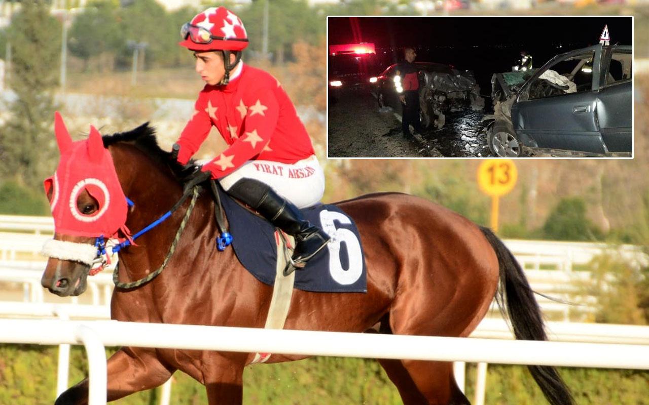 At yarışından dönen apranti İsmail Çizik kazada hayatını kaybetti