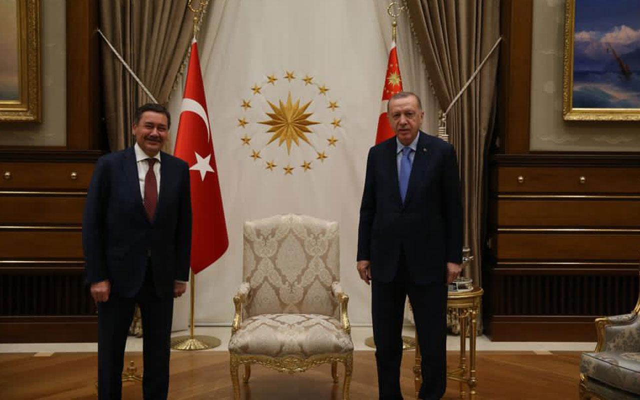 Cumhurbaşkanı Erdoğan ve Melih Gökçek Beştepe'de görüştü