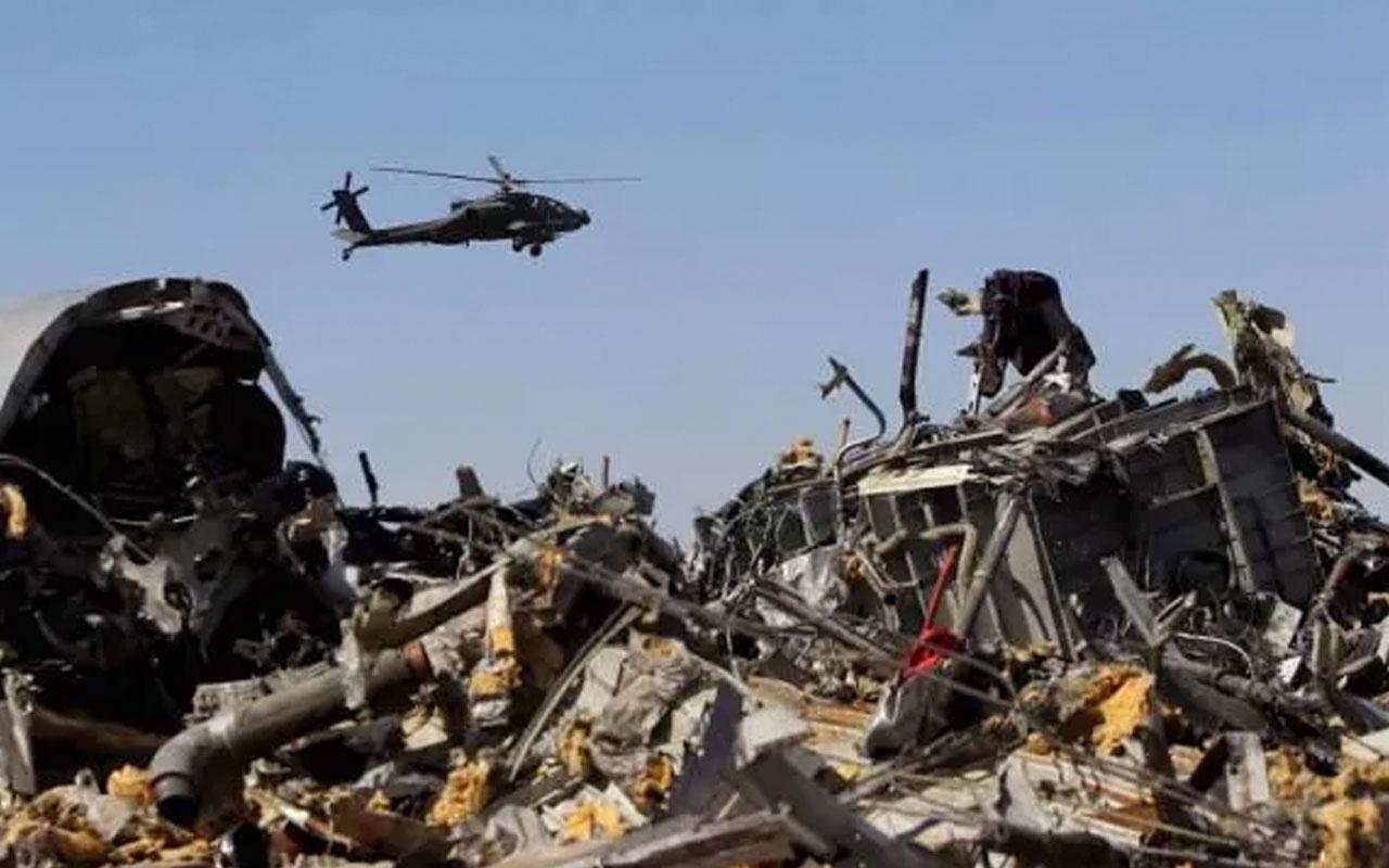 Son dakika Mısır'da askeri helikopter düştü! 5'i Amerikalı 7 kişi öldü