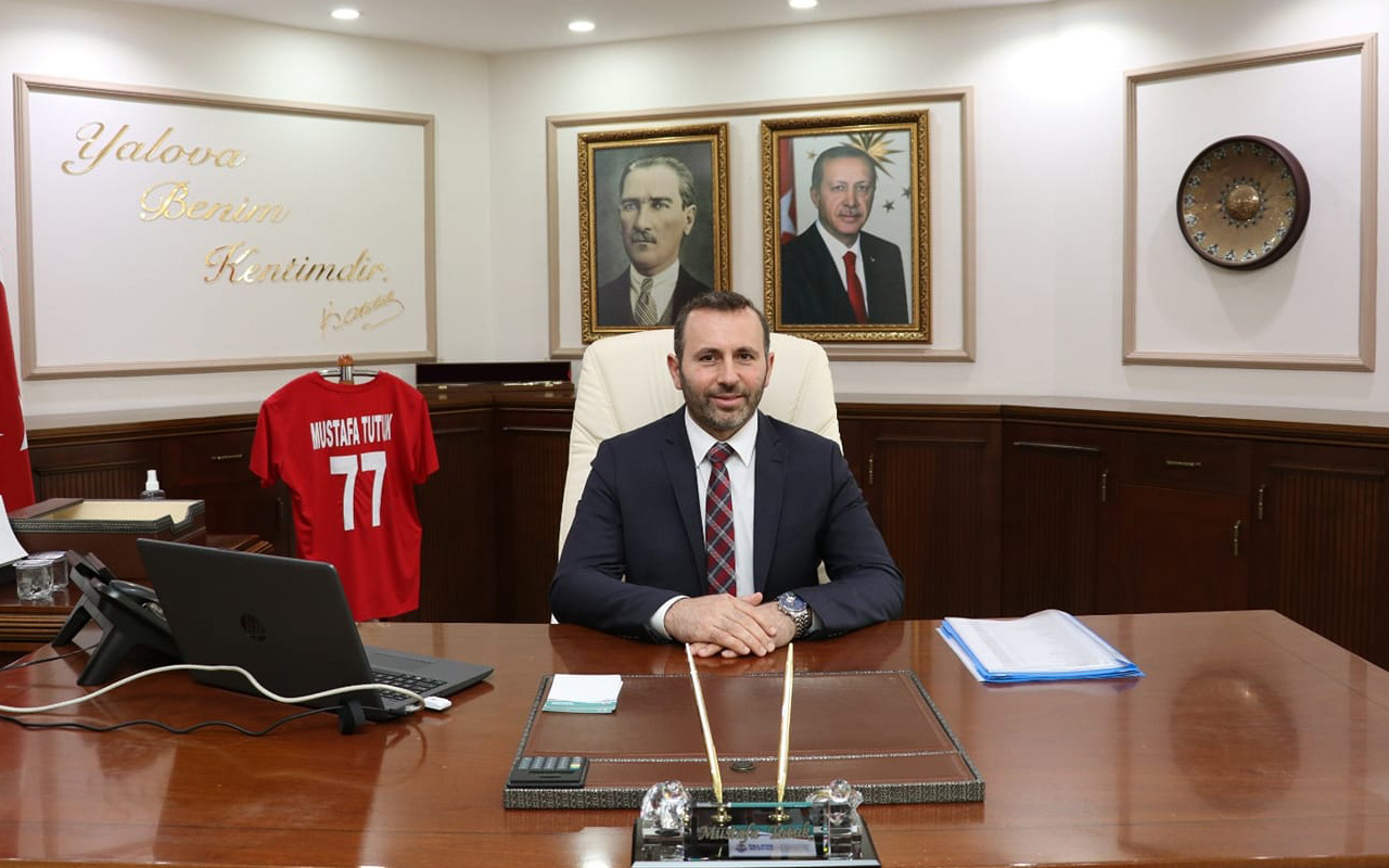 Yalova Belediye Başkan Vekili Mustafa Tutuk koronavirüse yakalandı