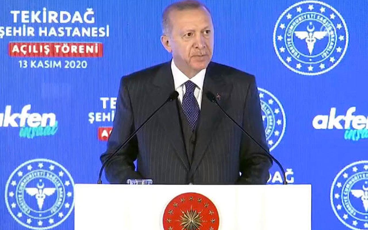 Cumhurbaşkanı Erdoğan'dan vatandaşa çağrı: Ne olur Allah rızası için bırakın sigarayı
