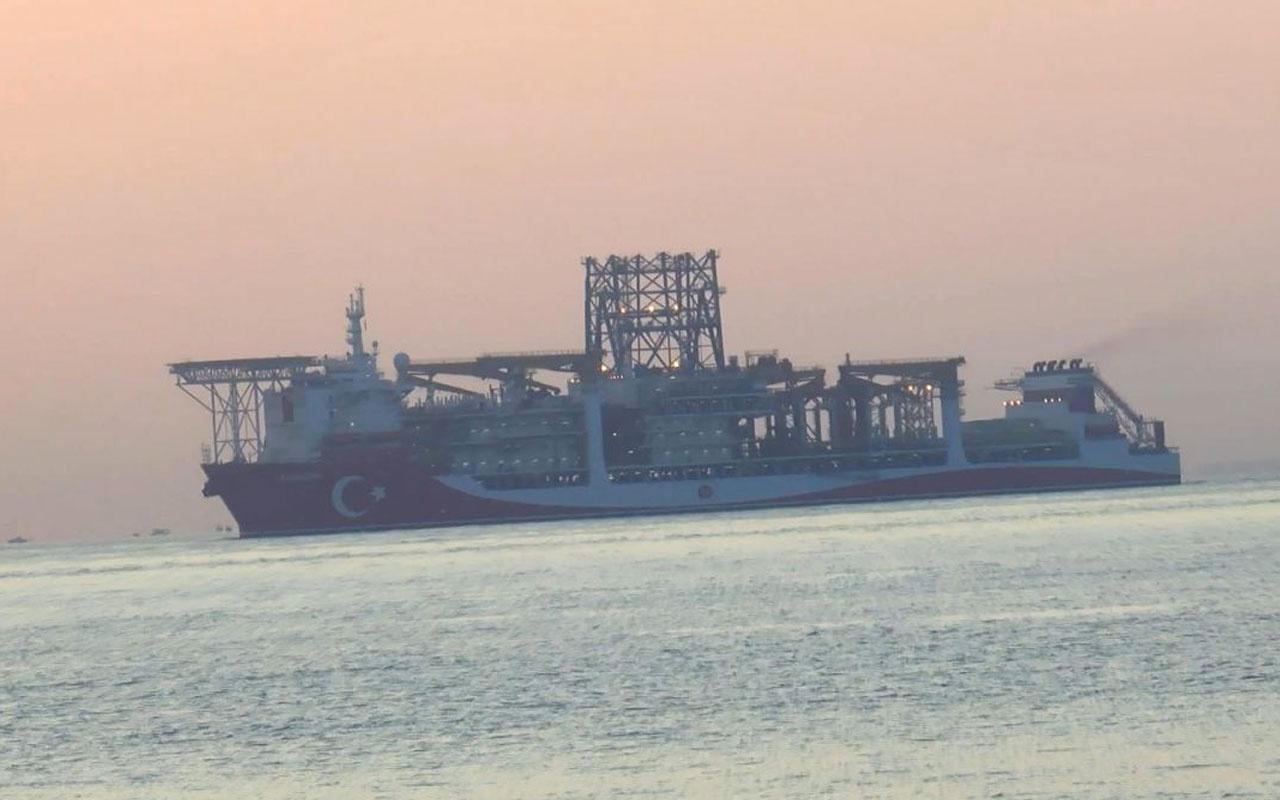 Kanuni Sondaj Gemisi Kadıköy'e demir attı