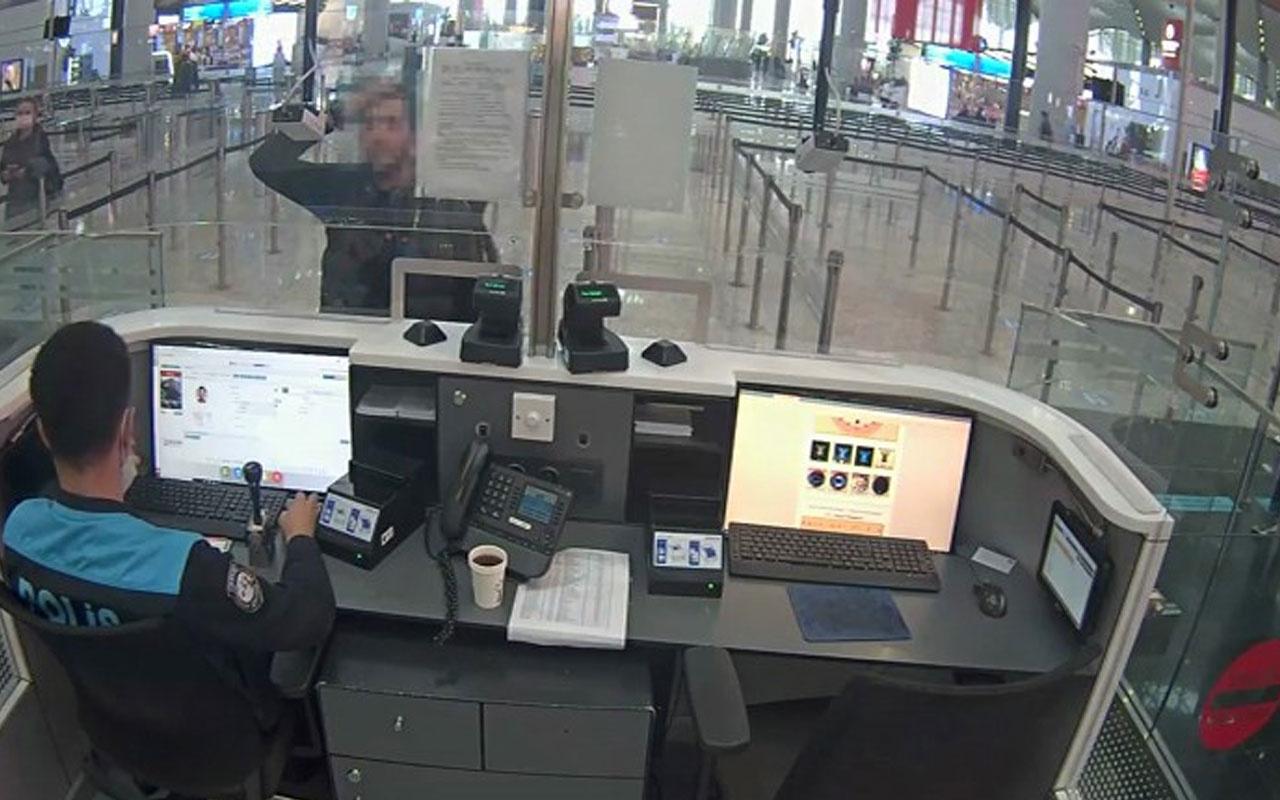 İstanbul Havalimanı'nda şok! PKK'lı terörist böyle yakalandı