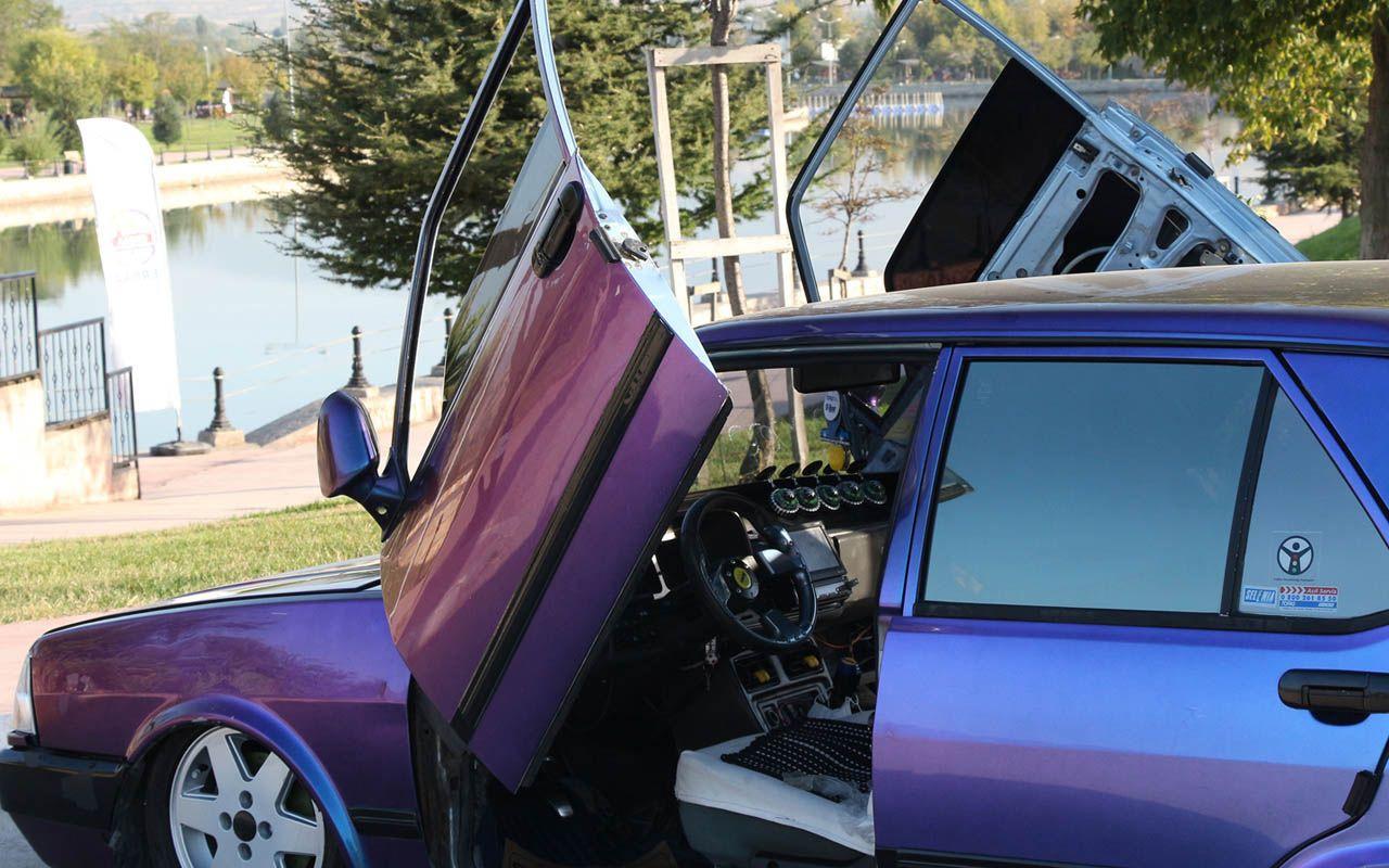 Tokat'ta Lamborghini'den esinlenip yaptırdı! 1993 model otomobili gören bir daha bakıyor
