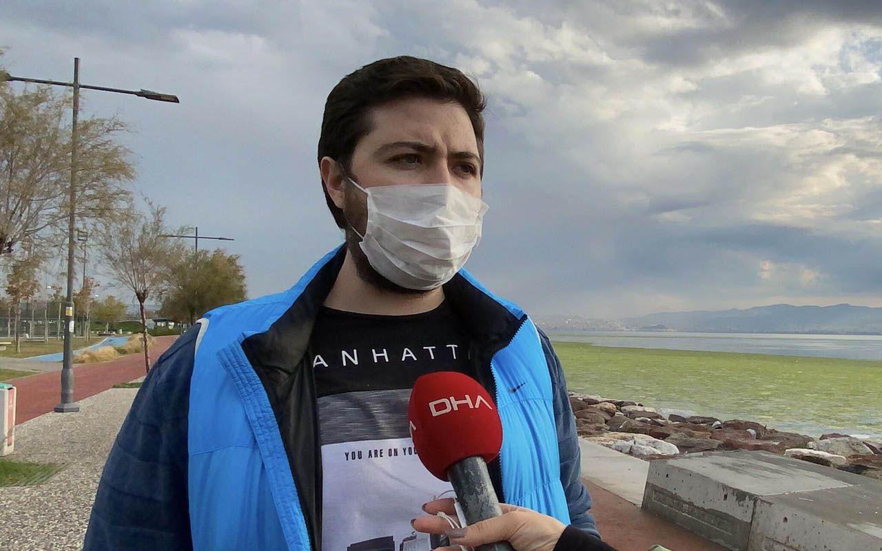 İzmir'in 'deniz marulu' kabusu sürüyor: İlk kez görenler korkuya kapılıyor