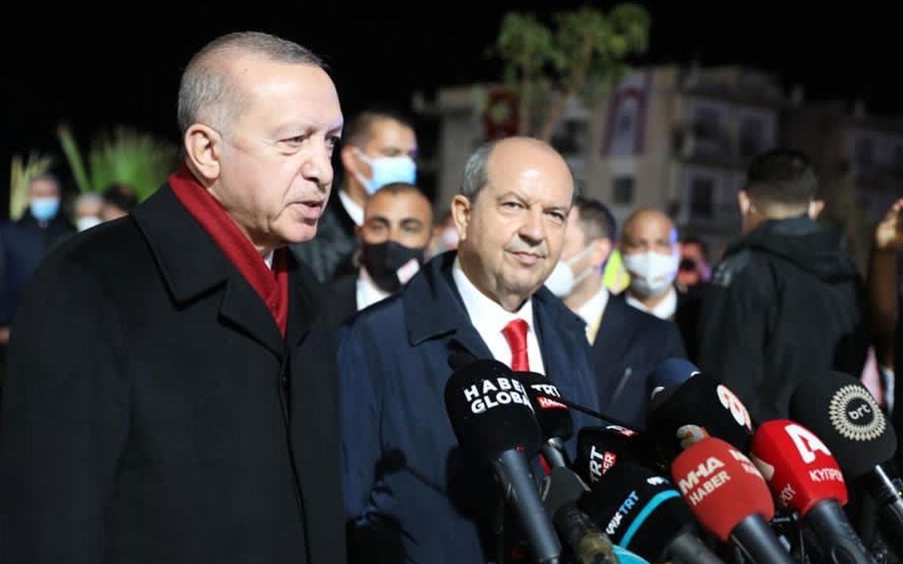 Ersin Tatar'tan Erdoğan'a hastane teşekkürü