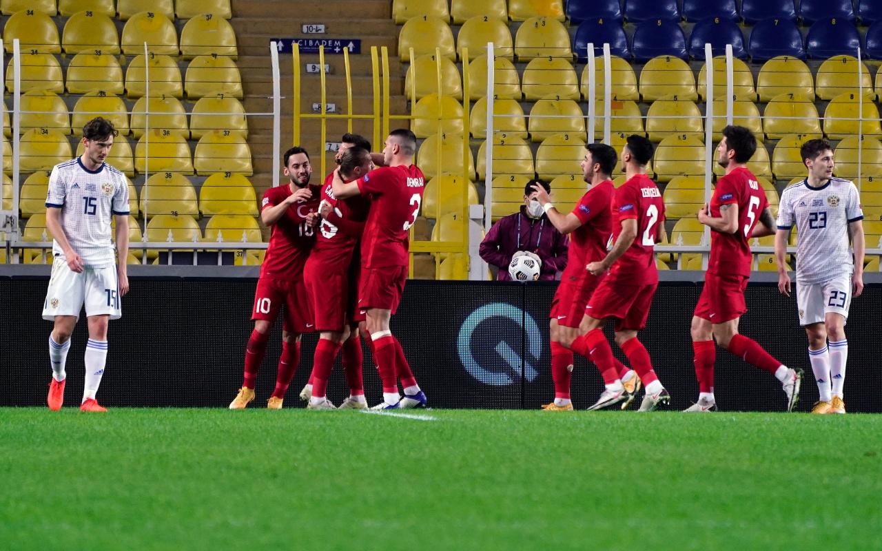 Türkiye Rusya UEFA Uluslar Ligi maçı golleri ve geniş özeti