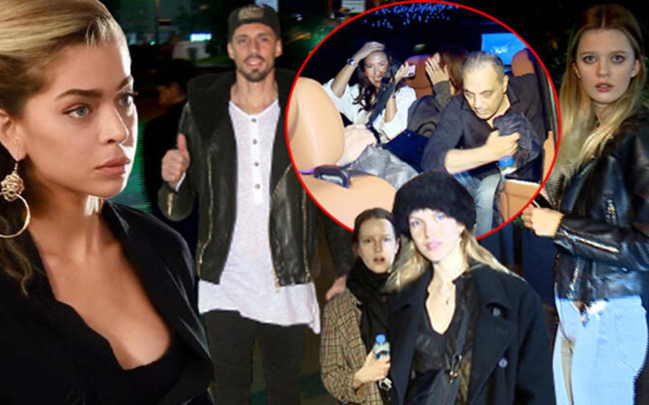 Korona partisine ünlü isimler akın etti! Yakalanınca parmak işareti yaptı
