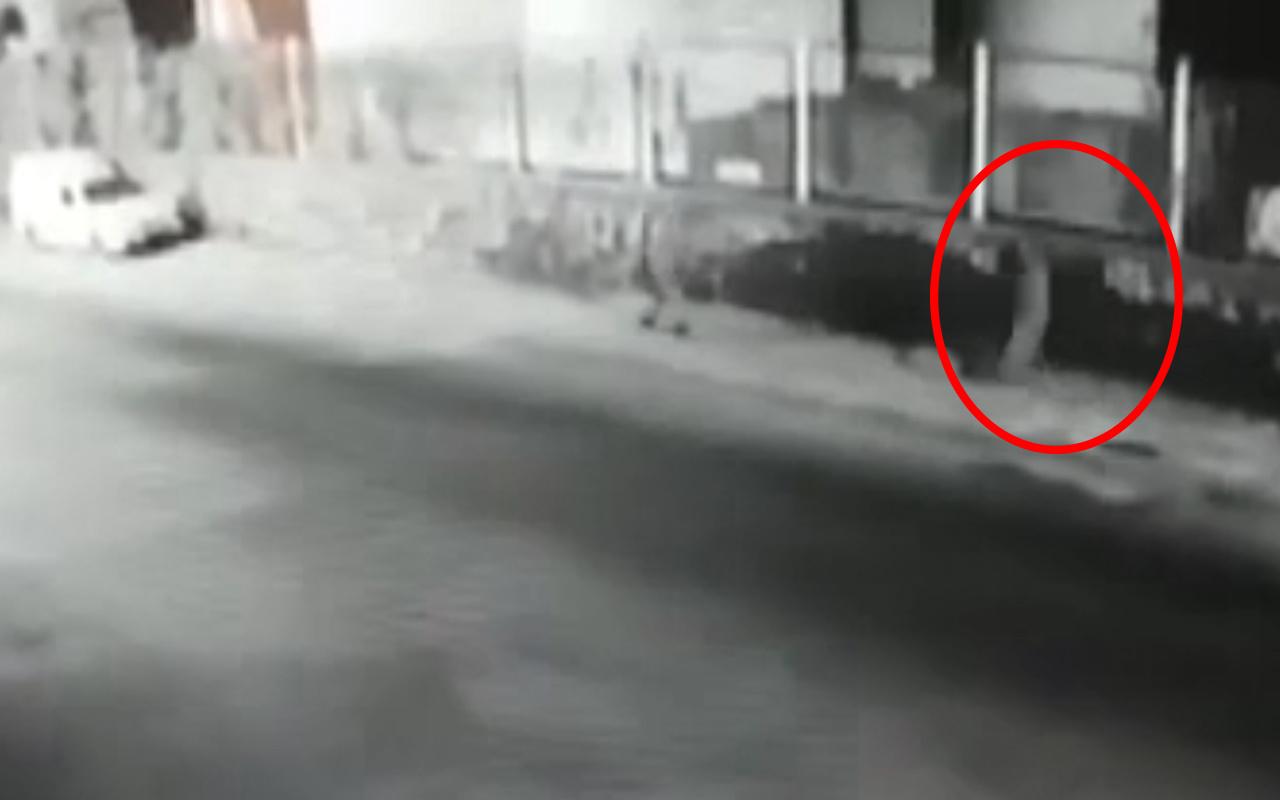 Tekirdağ'da suç makinesi sapık, genç kadını sokakta taciz etti! İşte o anlar