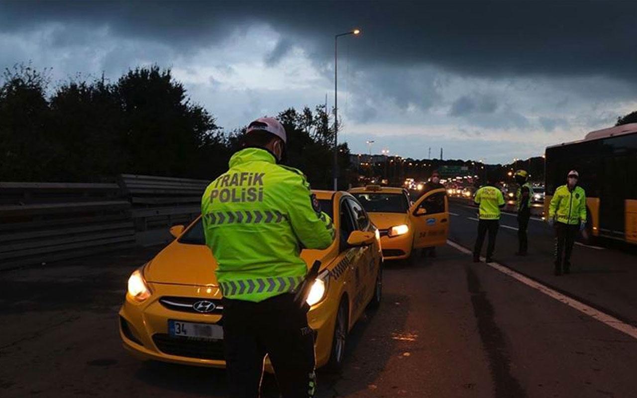 Son dakika 991 toplu ulaşım aracı/taksi seferden, 107 iş yeri faaliyetten men edildi!