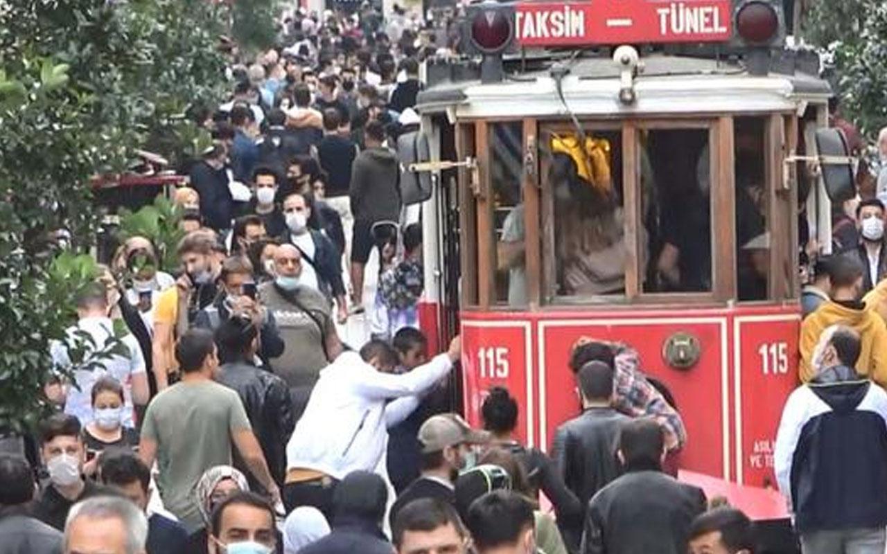 İstiklal Caddesi için kişi sınırlaması getirildi! En fazla 7 bin kişi bulunabilecek