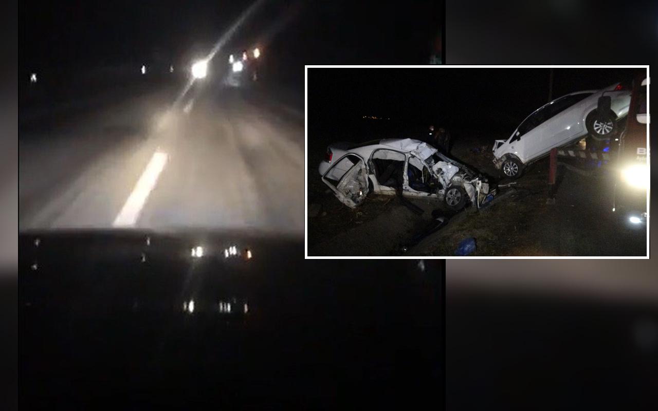 Tokat'ta 2 kişinin öldüğü trafik kazasını sosyal medyadan canlı yayınladı