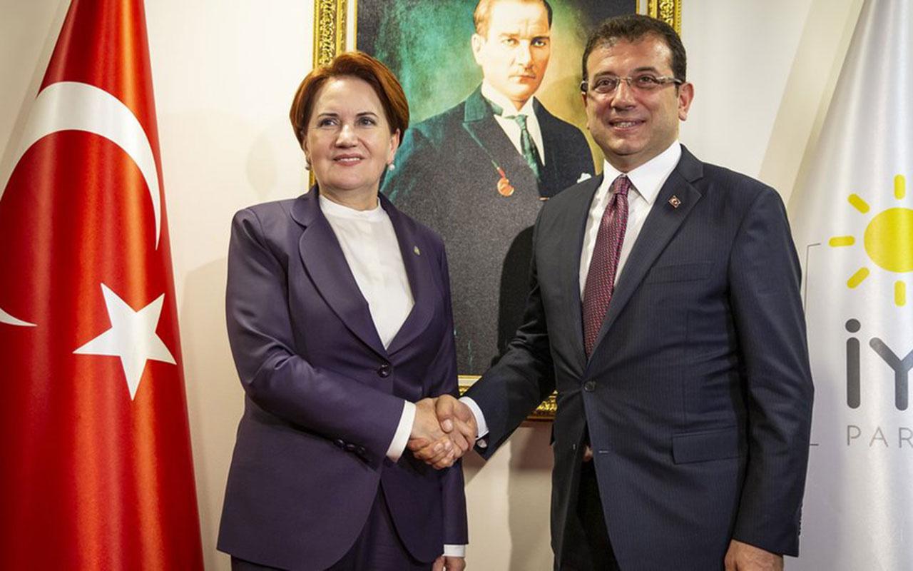 Ekrem İmamoğlu'na 'bölücülük' soruşturması! Meral Akşener açıkladı gerekçe Kanal İstanbul