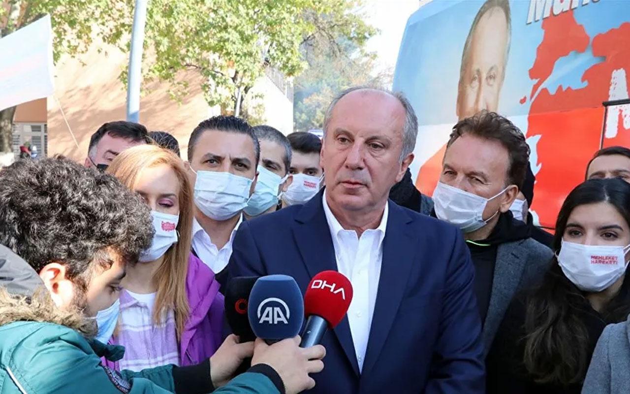 Muharrem İnce gazetecinin HDP sorusuna tepki gösterdi