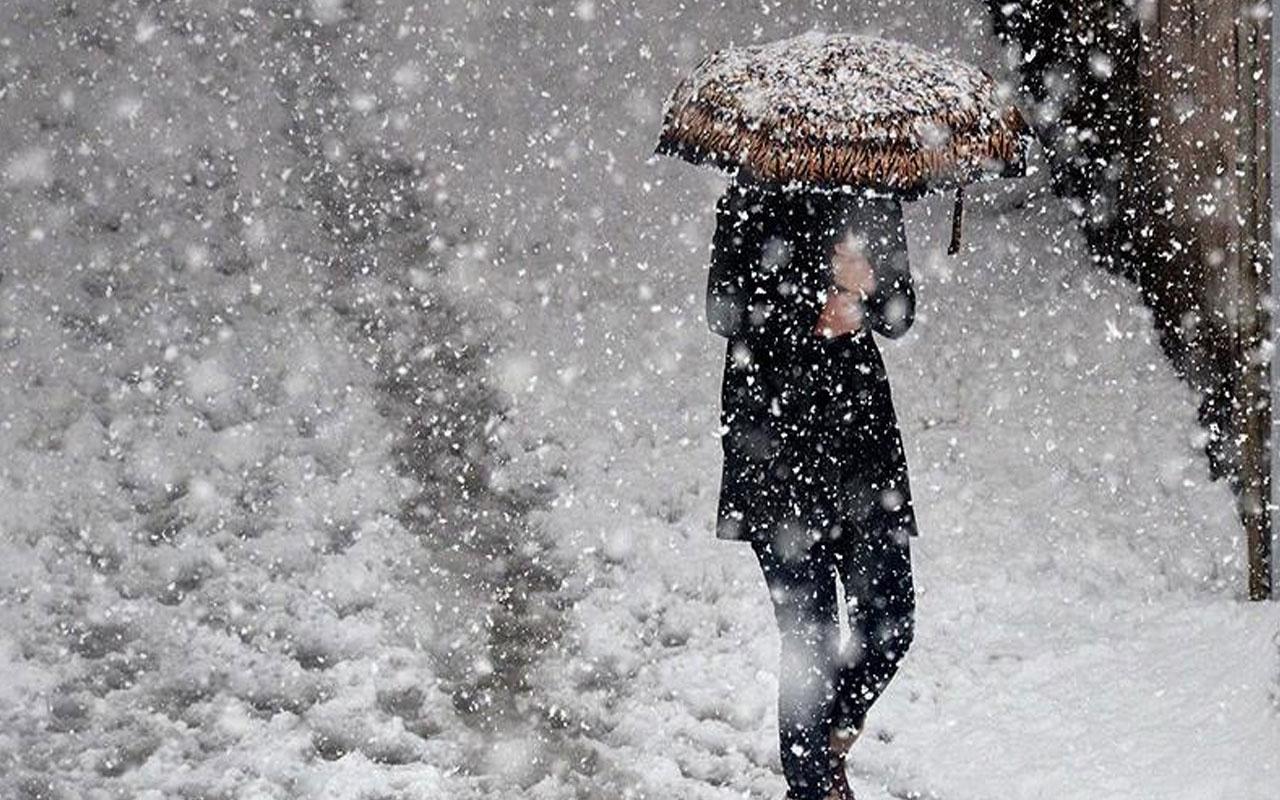 Meteoroloji'den kar yağışı uyarısı! Bu illerdekiler dikkat