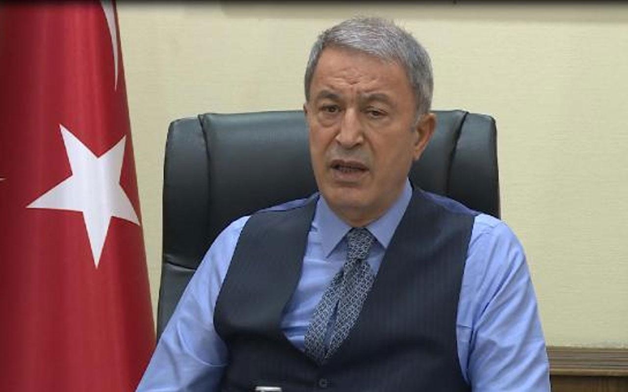 Milli Savunma Bakanı Hulusi Akar: Görüşmeler yapıldı, karşılıklı çalışmamız devam ediyor