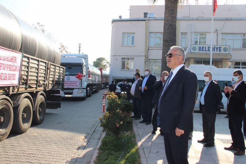 Türkiye'de bir ilk böylesi görülmedi! Manisa'da herkes durup onları izledi