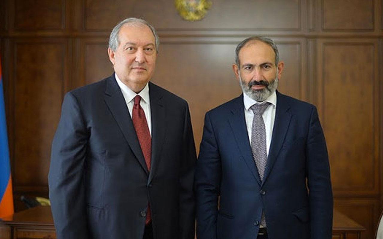 Ermenistan Cumhurbaşkanı Sarkisyan'dan Paşinyan'a erken seçim çağrısı