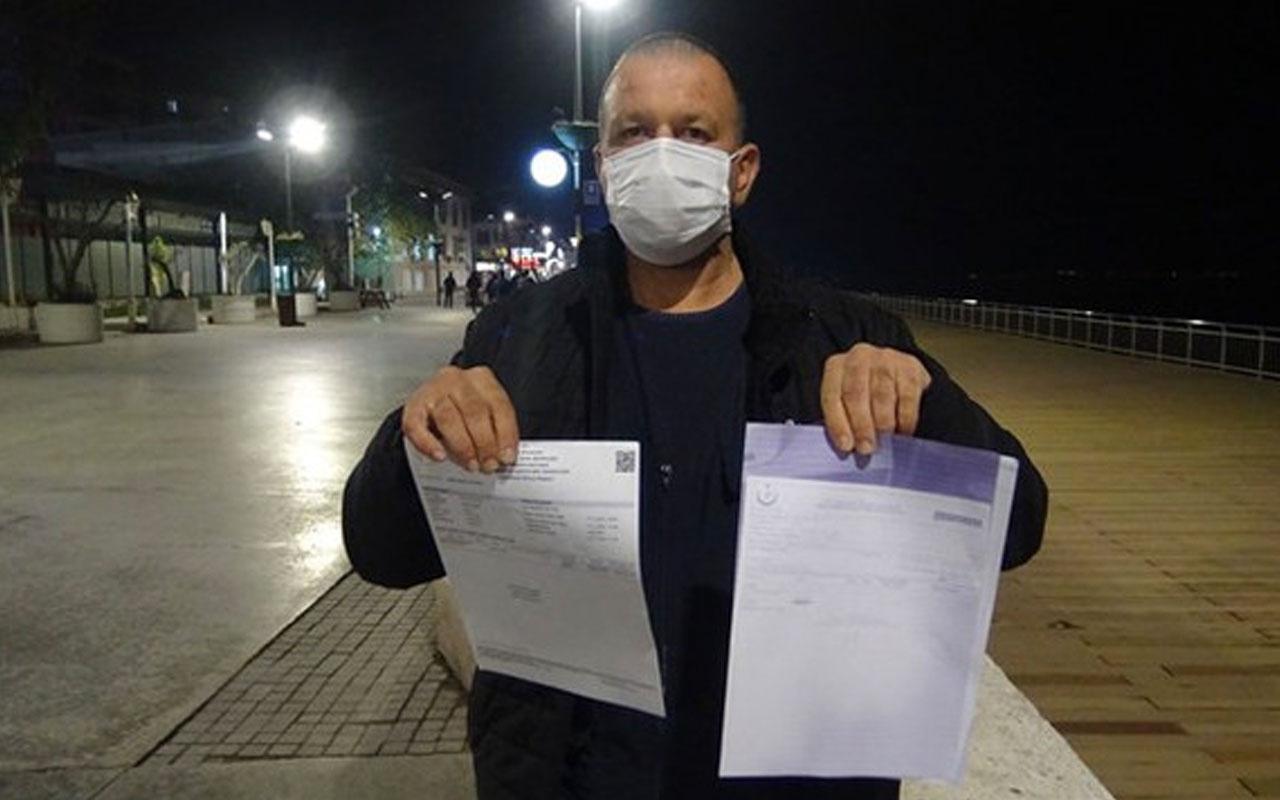 Bursa'da koronavirüs test sonucu pozitif çıkan servis şoförü işten atıldı