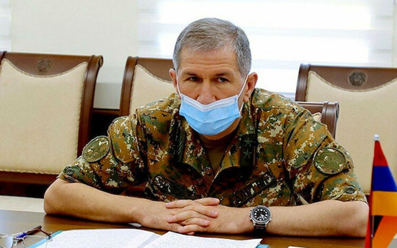 Ermenistan Genelkurmay Başkanı Gasparyan: 3 günde cephanemiz bitti savaşmamayı teklif ettim