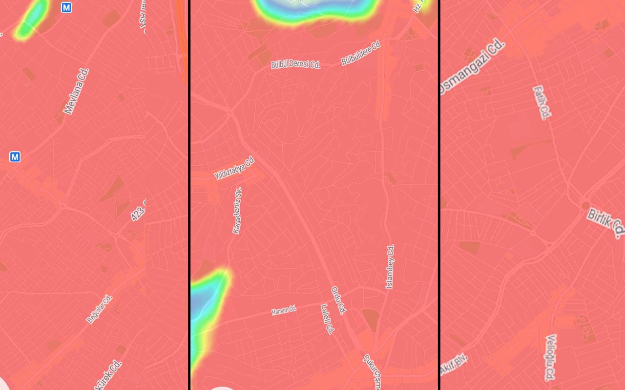 İstanbul'da kısıtlamanın ardından şok eden harita! İşte ilçe ilçe son durum