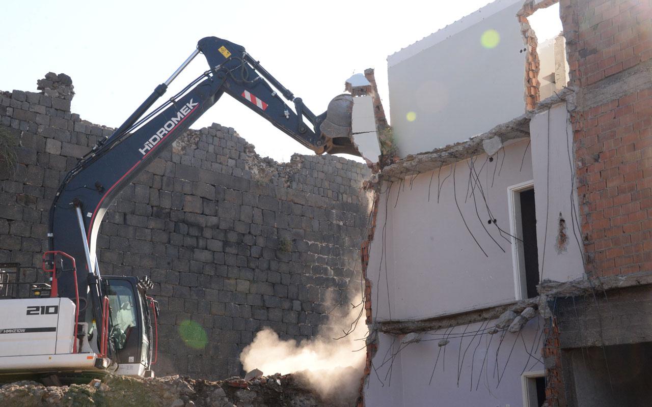 Diyarbakır surlarındaki restorasyonda 2'nci etap çalışmaları başladı