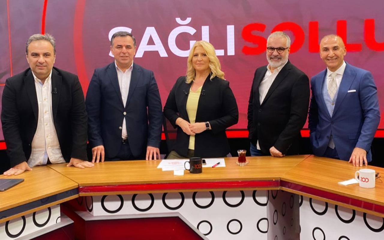 Sağlı Sollu'da gazetecilerin kutuplaşmasına karşı ortak tavır