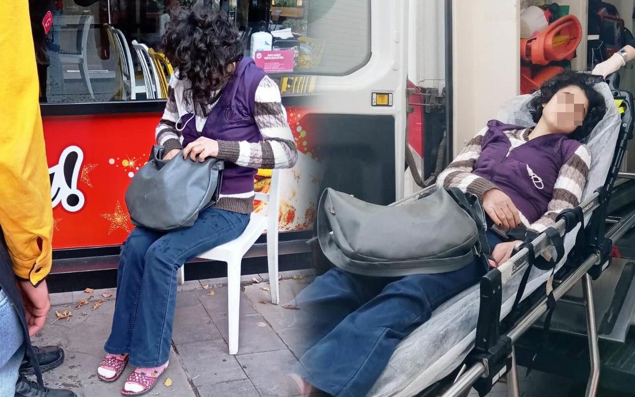 Sakarya'da genç kız polisi görünce bayıldı! Elinde fark eden telefona sarıldı
