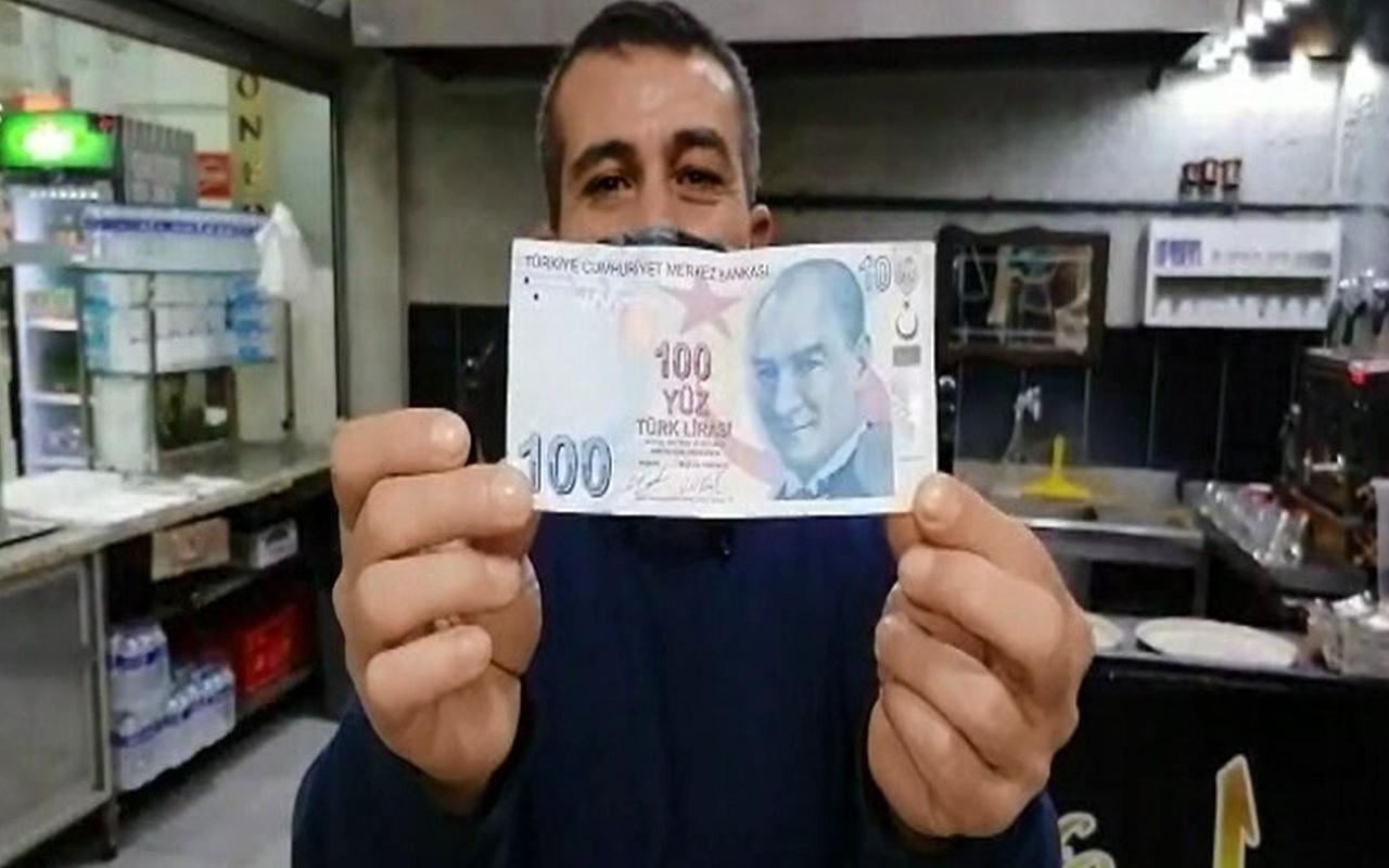 Bursa'da 100 TL'deki hatayı görenler şaşkına döndü! Bu parayı insanlar görmeye geliyor