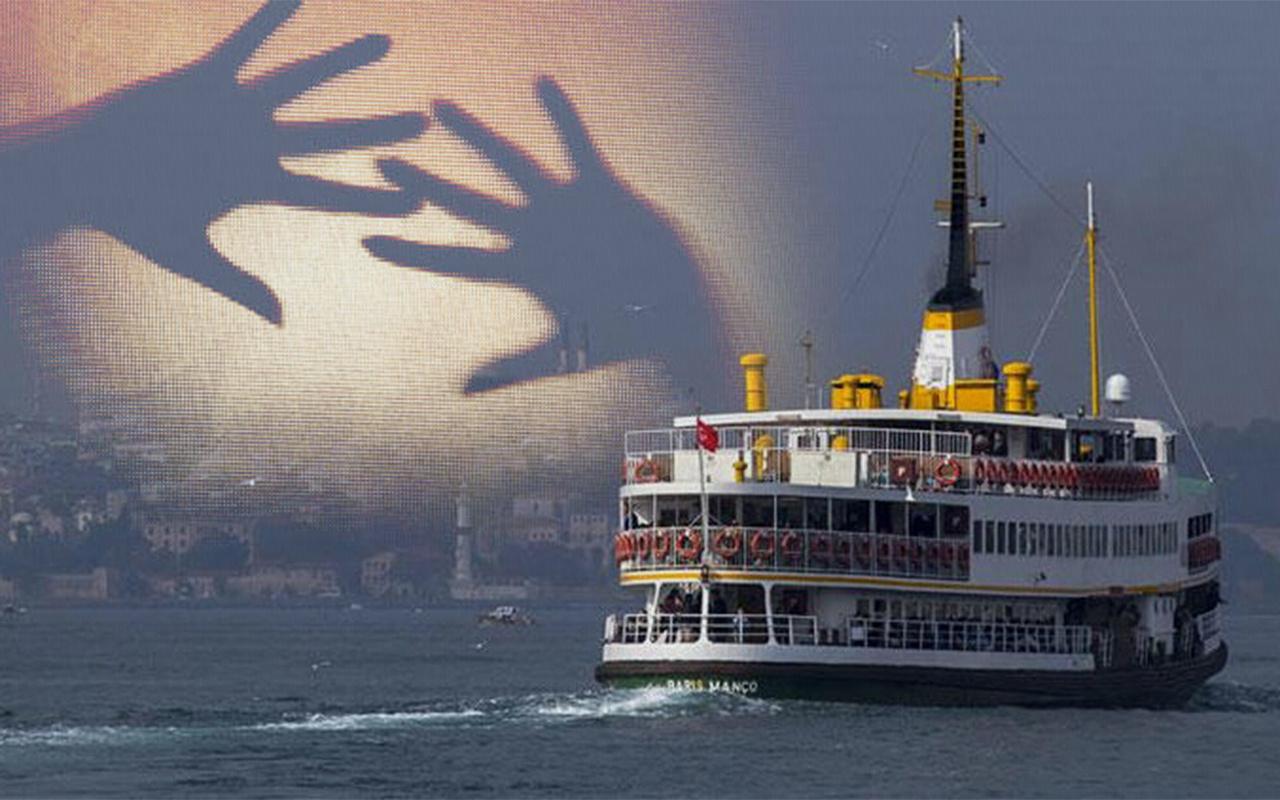 İstanbul'da vapura binen genç kız cinsel tacizine maruz kaldı