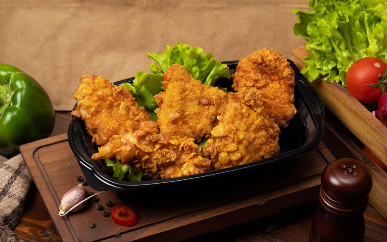 Evde KFC tavuk nasıl yapılır çıtır çıtır lezzet!