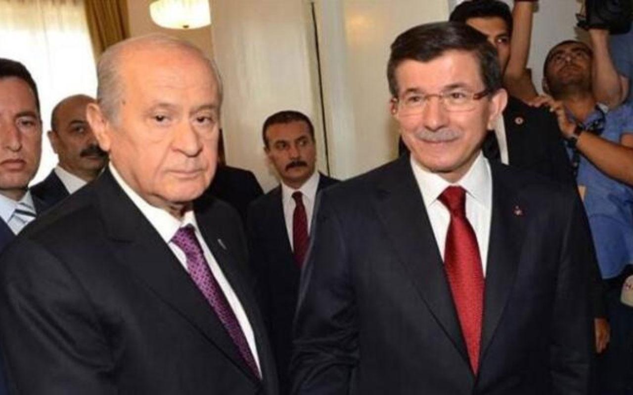 MHP Genel Başkanı Devlet Bahçeli Ahmet Davutoğlu'nun görüşme talebini reddetti