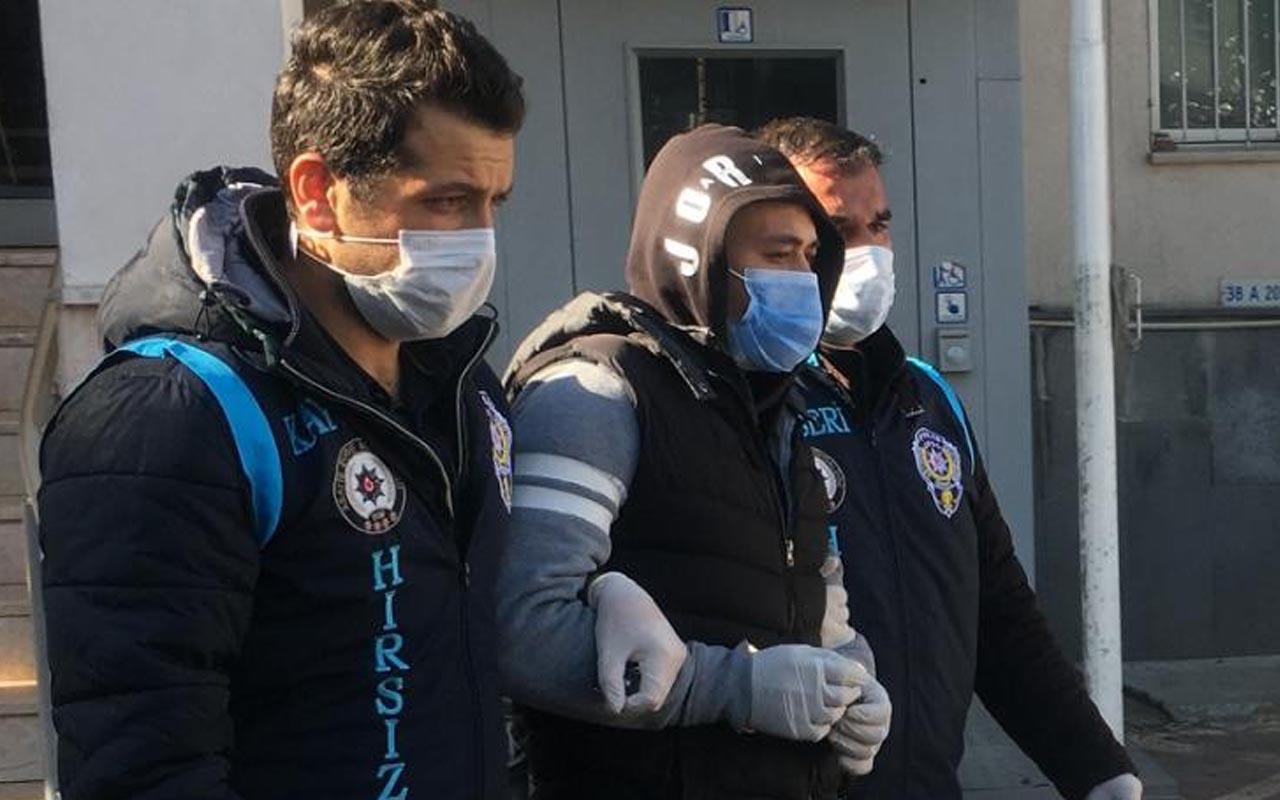 Kayseri'de 21 araçtan hırsızlık yapan oto faresinin arsız cümlesi