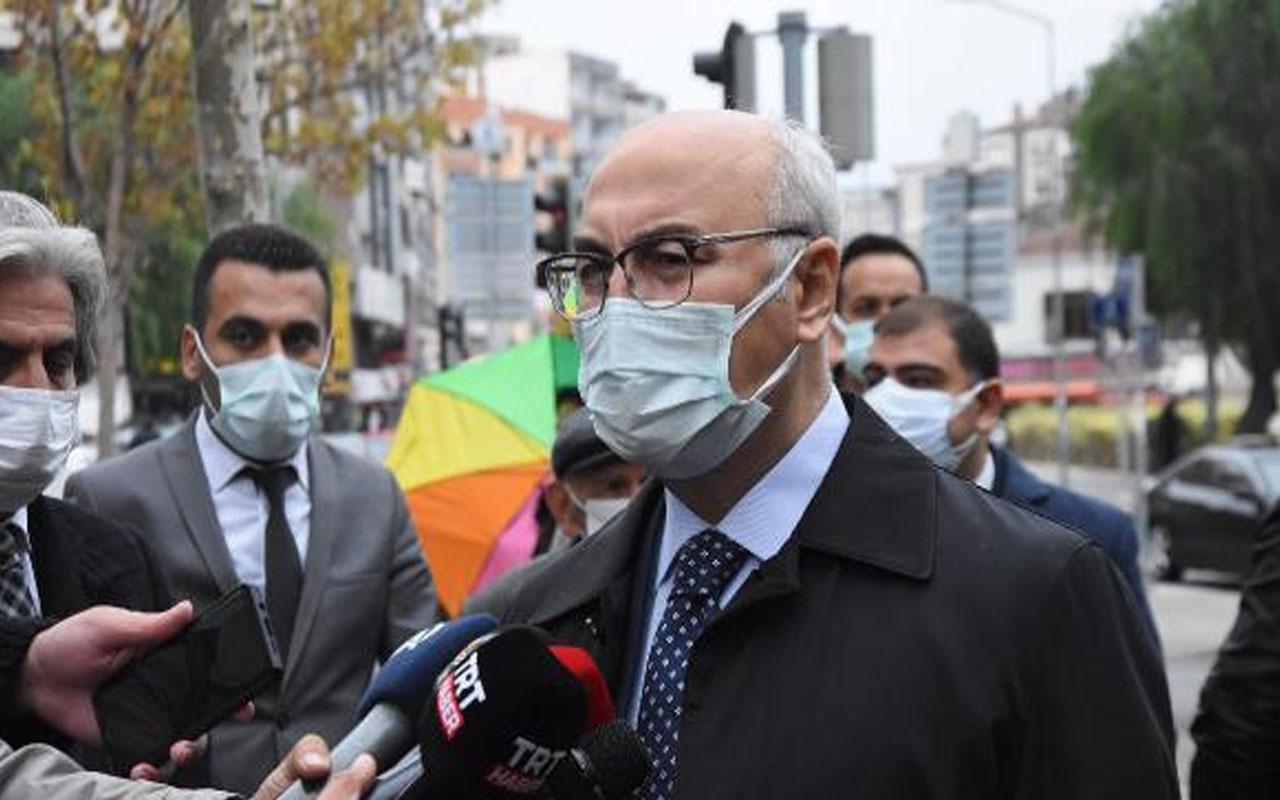 İzmir Valisi Yavuz Selim Köşger: Depremden sonra virüs kaynaklı vefat sayıları 3 katına çıktı