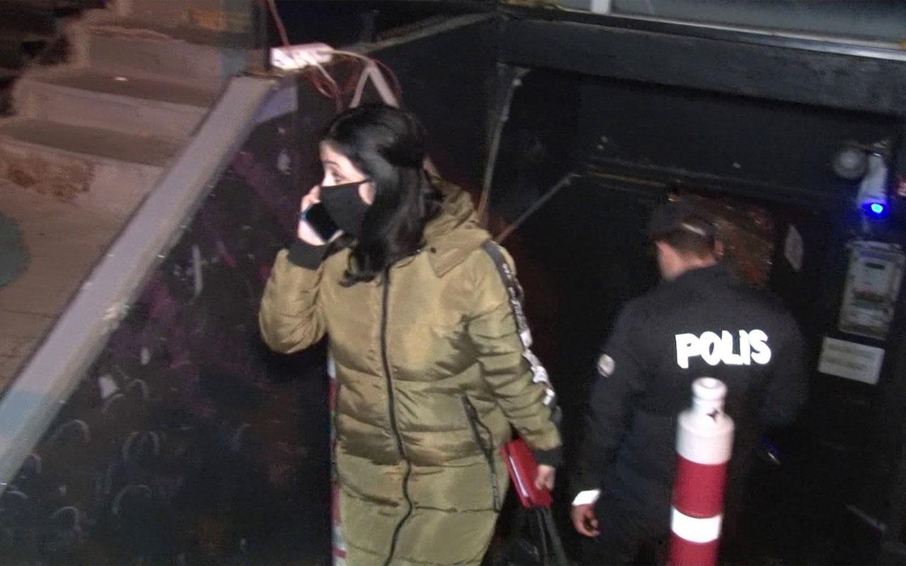 Korona partisi'ne düzenlenen baskında kaçmaya çalışan 2 kişi merdivenden düşerek yaralandı