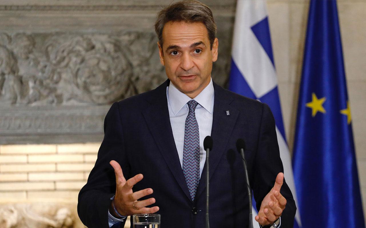 Yunan Başbakan Miçotakis'ten Türkiye'ye küstah suçlamalar
