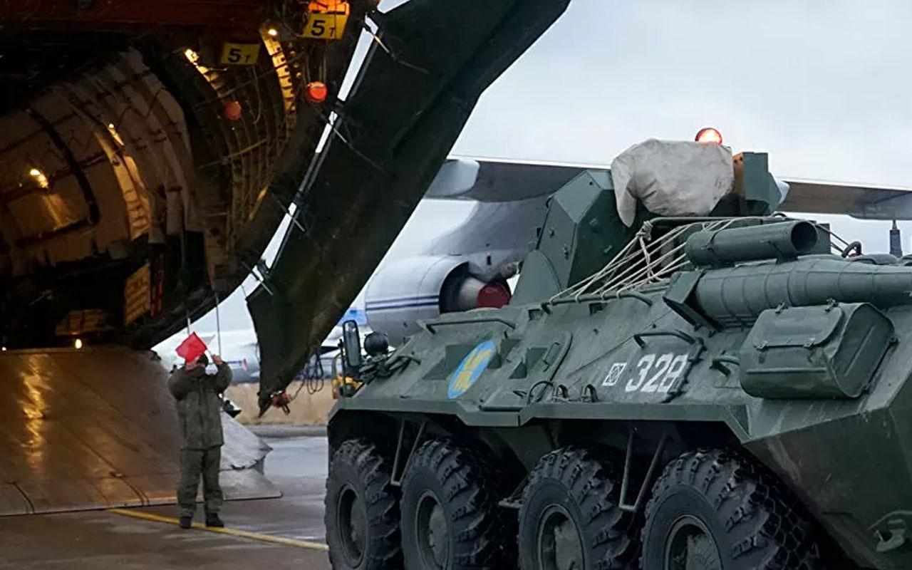 Rus barış güçlerinin Dağlık Karabağ'a uçuş sayısı 200'ü geçti