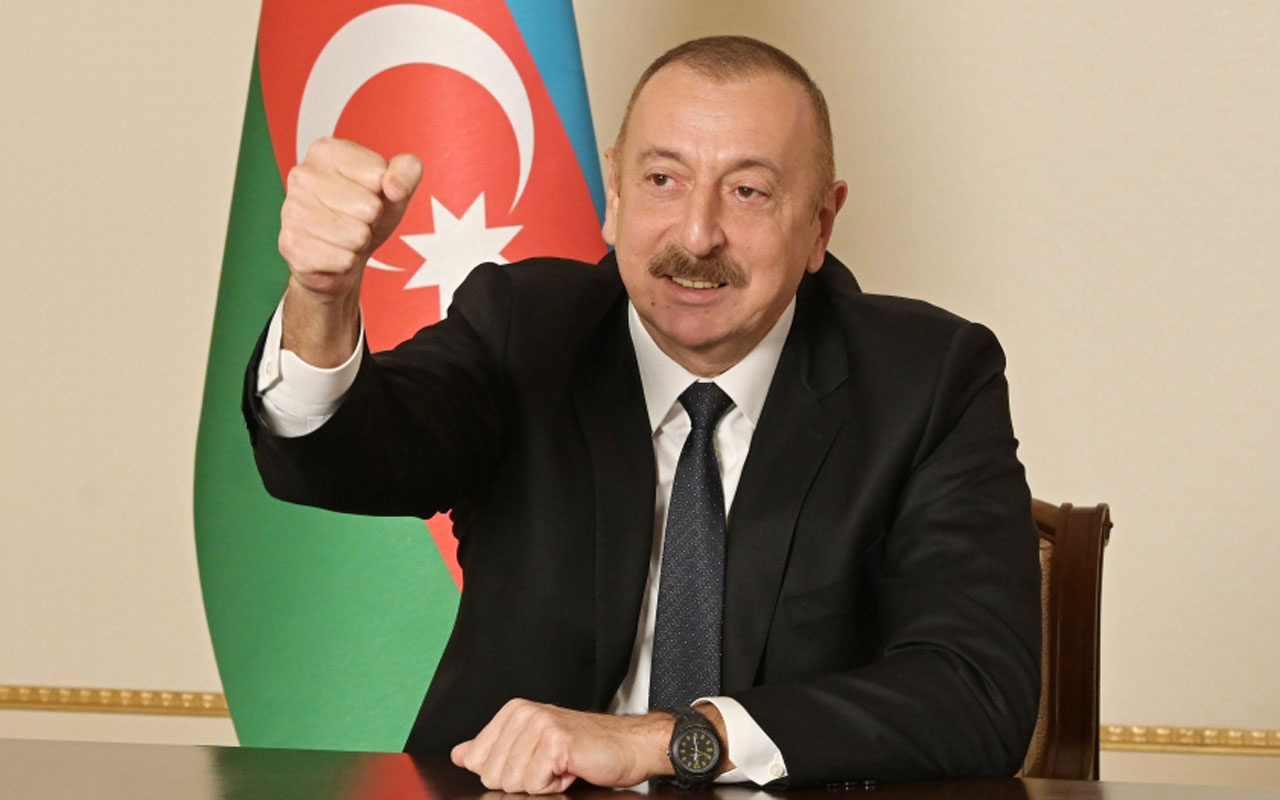 Azerbaycan Cumhurbaşkanı Aliyev Ağdam'ın kurtuluşu dolayısıyla halka seslendi