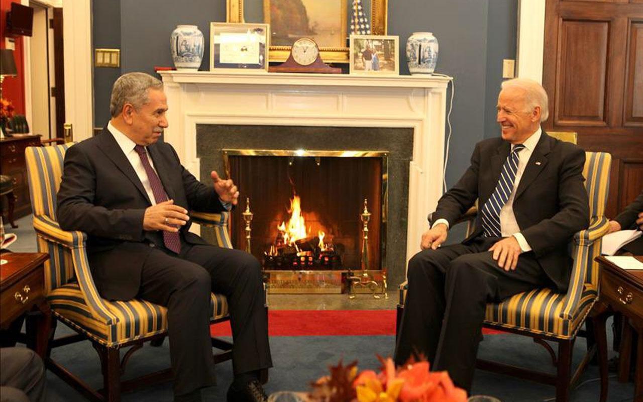 Bülent Arınç'tan, ABD Başkanlık seçimlerini kazanan Biden'a tebrik!