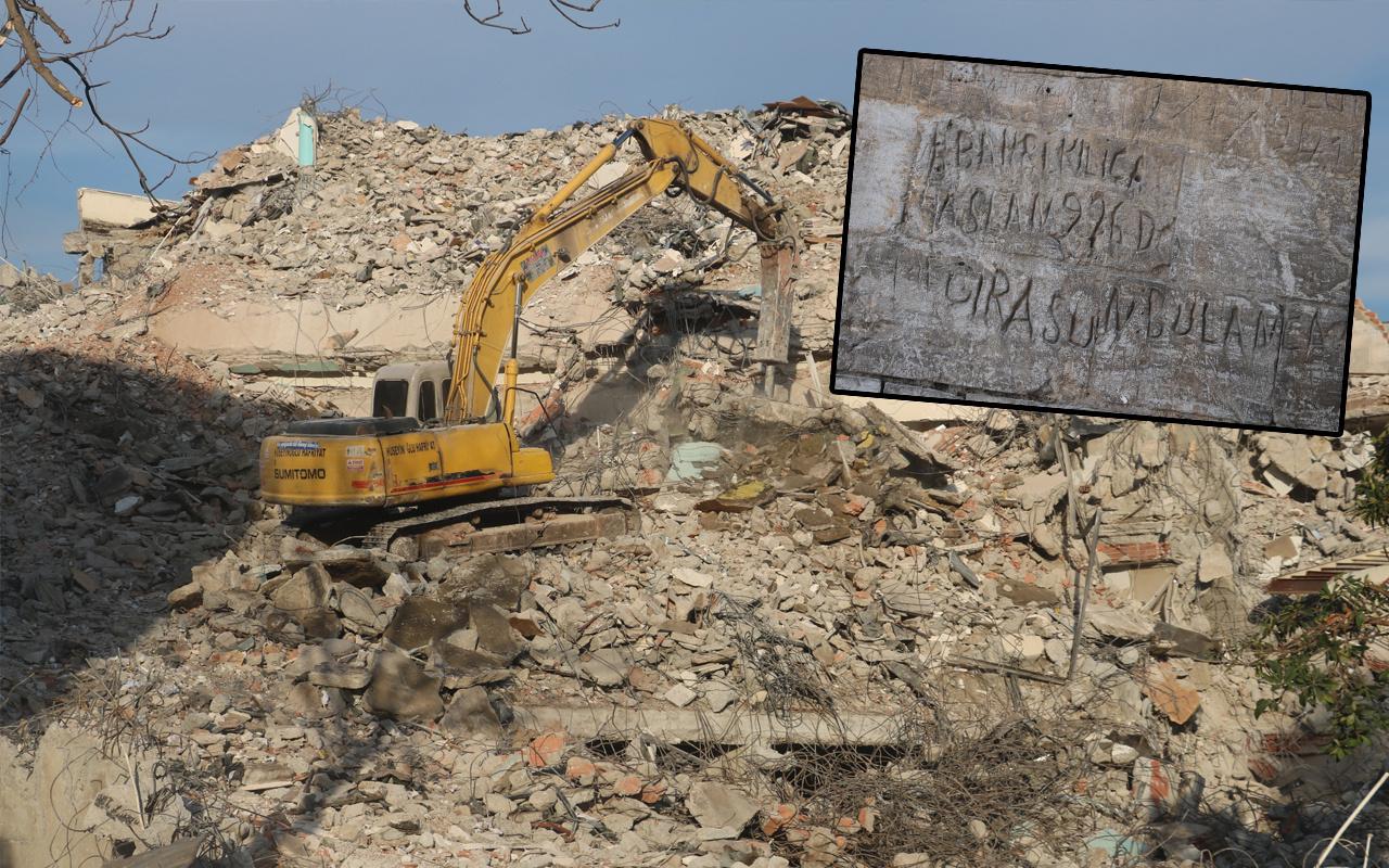 Şanlıurfa'da yıkım sırasında ortaya çıktı! Görenler şaşkına döndü