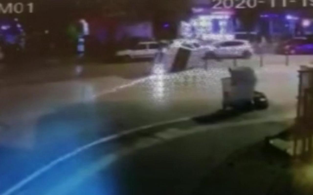 Bursa'da alkollü sürücü kaza yaptı! Annesi gelince bakın ne dedi