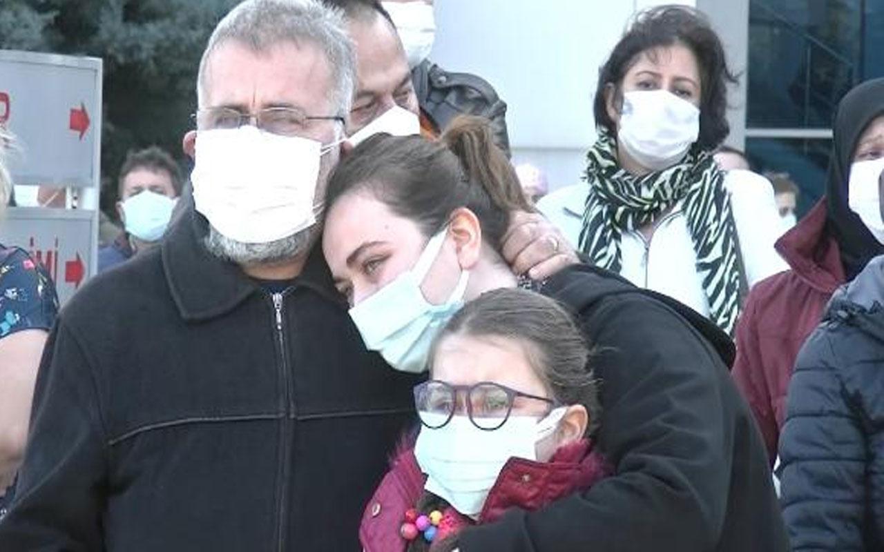 Bursa'da büyük acı! Koronavirüsten ölen Emine hemşire son yolculuğuna uğurlandı