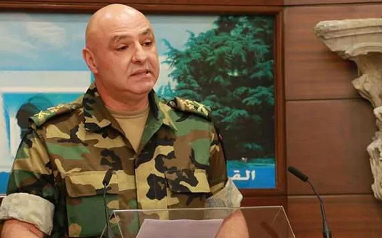 Lübnan Genelkurmay Başkanı'ndan İsrail'e karşı ''hazır ol'' emri!