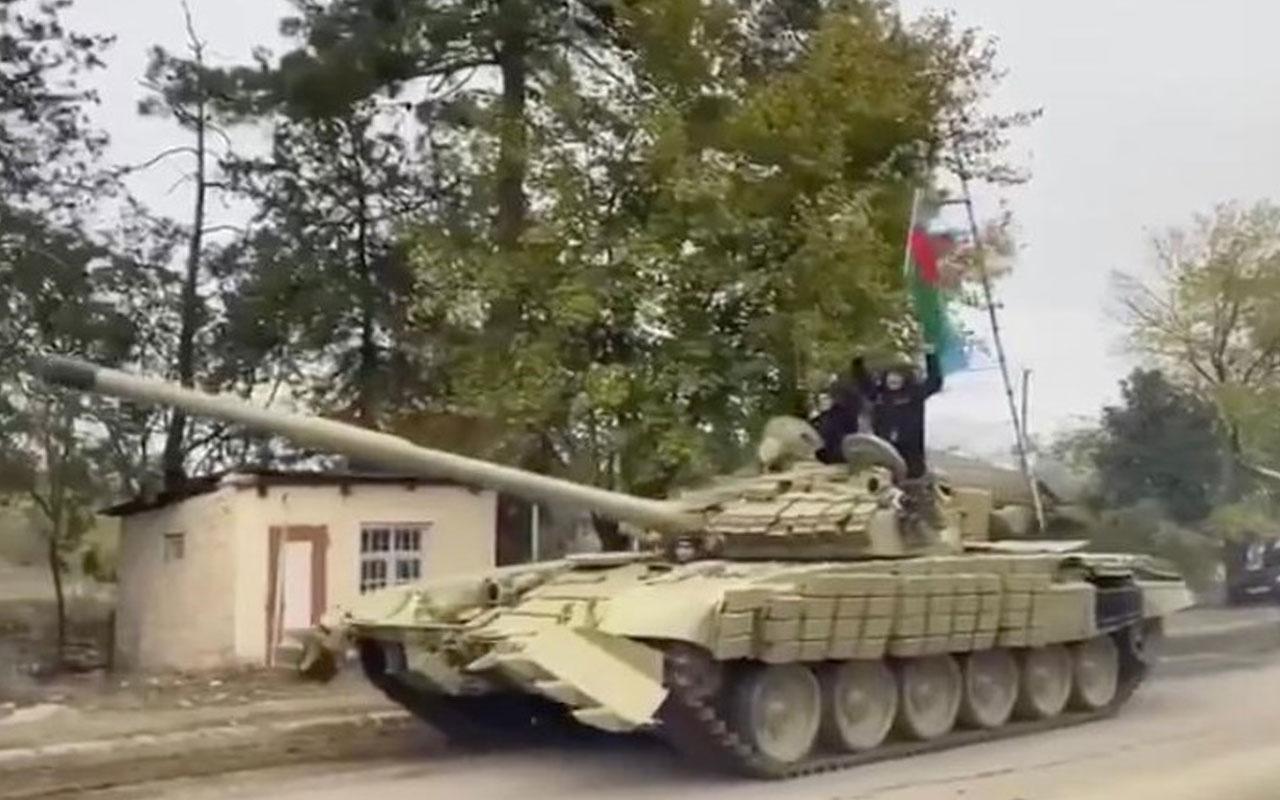 Milli Savunma Bakanlığı: Azerbaycan ordusu Ağdam'a girdi