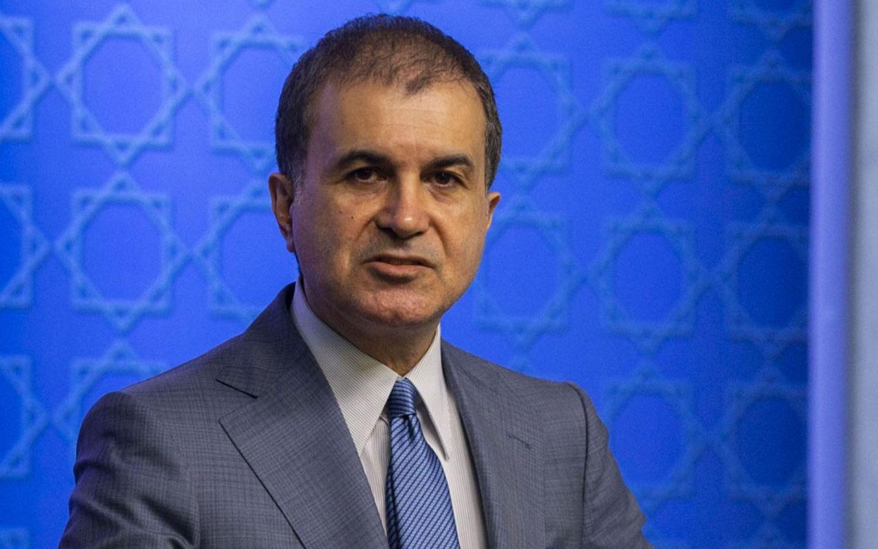 AK Parti Söscüsü Ömer Çelik'ten Pompeo'nun provokatif ziyaretlerine tepki