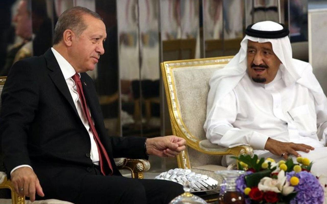 Başkan Erdoğan, Kral Selman ile telefonda görüştü