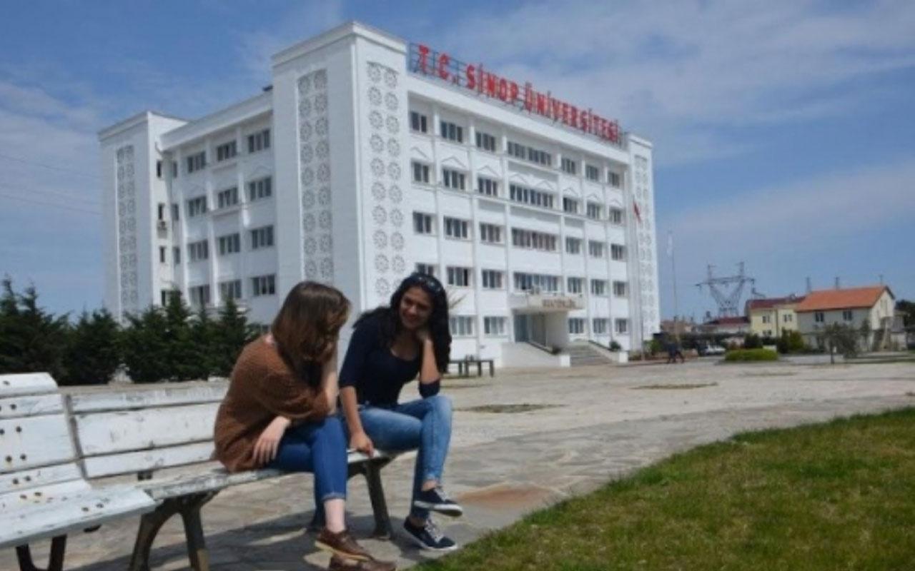 Sinop Üniversitesi'nde kısmen yapılan yüz yüze eğitime ara verildi