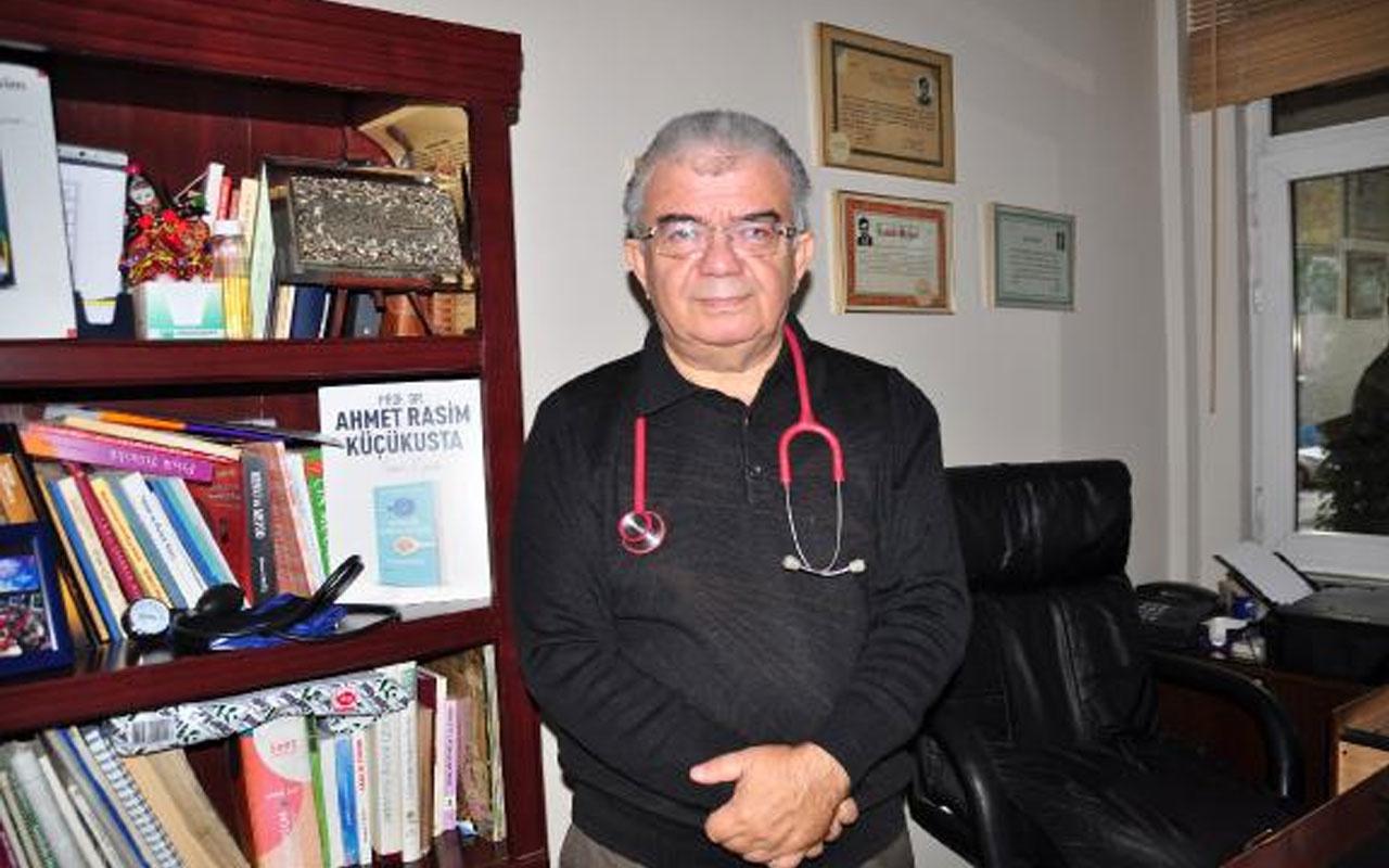 Prof. Dr. Ahmet Rasim Küçükusta'dan Kovid-19'a karşı tuzlu su ile gargara önerisi