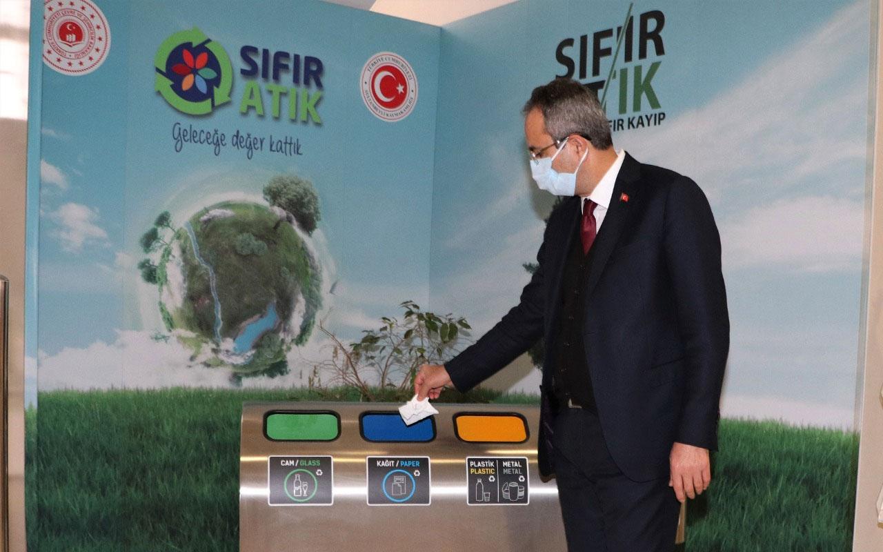 Sultanbeyli'de Sıfır Atık Projesi kapsamında 495 ton atık toplandı