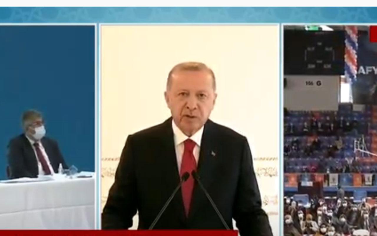 Erdoğan AK Parti kongrelerinin ertelendiğini açıkladı